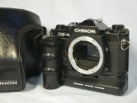 '  CE-4 + Winder 530 Cased  ' Chinon CE-4 + Winder 530 Pentax K Fit SLR Camera Cased £17.99